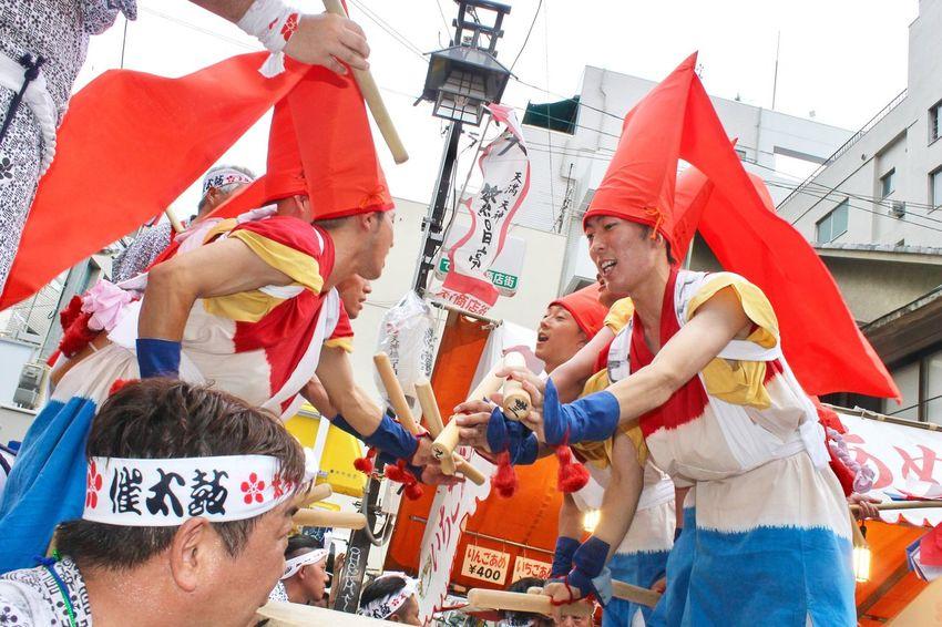 OSAKA Osaka,Japan Japanese Festival Tenjin Matsuri 天神祭 Osaka City Osakatenmangu 大阪天満宮 天神橋