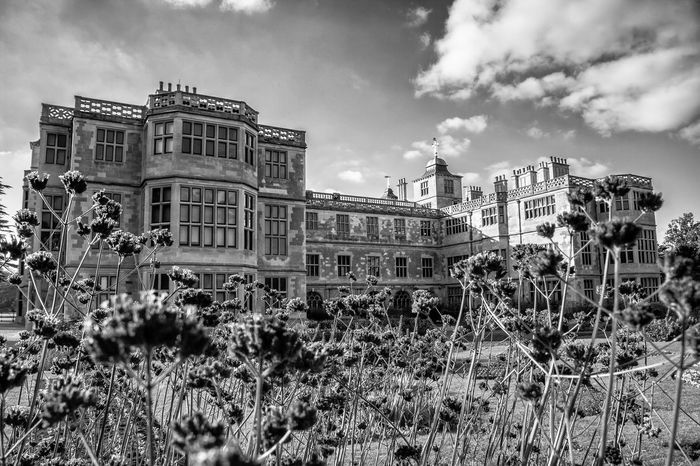 Audley End House Architecture Atmospheric Mood Black And White Photography Black&white Building Exterior Built Structure England English Garden Historical Building History Jacobean Manor House Outdoors Travel