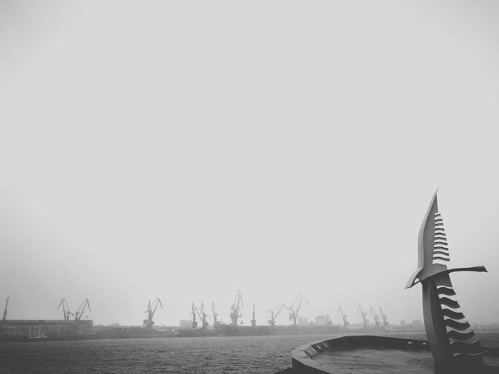 Klaipeda port #klaipeda #port Outdoors No People Nature Day Sea Sky Animal Themes first eyeem photo EyeEmNewHere