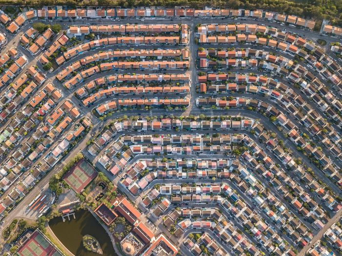 Hong Kong DJI Mavic Pro Building Exterior Architecture Built Structure High Angle View Building Residential District City Day Backgrounds Aerial View Full Frame Outdoors House Roof Pattern Cityscape Roof Tile No People Nature Community