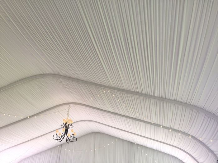 Indoors  Tent White Color Pattern Chandelier Ceiling Hanging Lights String Of Lights Wedding Fabric