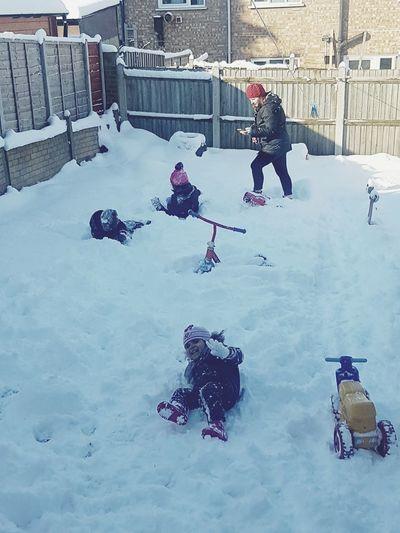 Fun times Weather Snow Taking Photos Snow ❄ Cold Temperature Fun Times ^_^