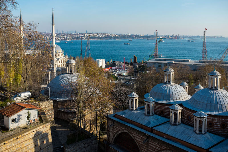 Tophane-i Amire and view in Istanbul Beyoglu-ıstanbul Beyoğlu Bosphorus Europe Istanbul Old Architecture Ottoman Empire Overhead View Tophane-i Amire TophaneiAmire Turkey Turkishfollowers Türkei Türkiye