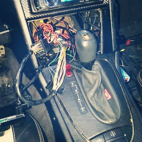 W202 Wiring  C43AMG Almost done.