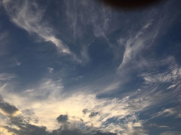 Skylovers Sky And Clouds Tokyo Sky Sky And Clouds Sky_collection Summer Cloud - Sky Sky Beauty In Nature Tranquility Low Angle View Tranquil Scene Scenics - Nature No People Idyllic Backgrounds Nature Full Frame Day Meteorology Blue Outdoors Environment Dramatic Sky Cloudscape Wispy
