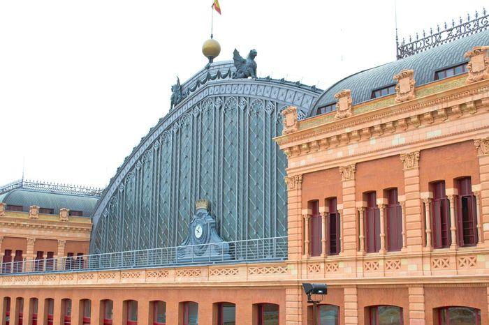 Estacion De Atocha Train Station Atocha Madrid SPAIN Arhitecture Urban Geometry Travel Photography On The Road