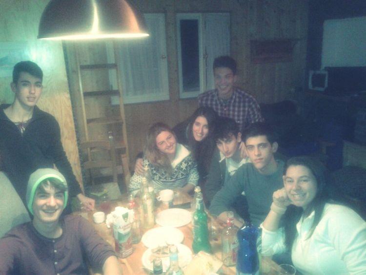 mes amis dans le nouvel an (y) Pontedilegno Capodanno2014 Salutmesamis