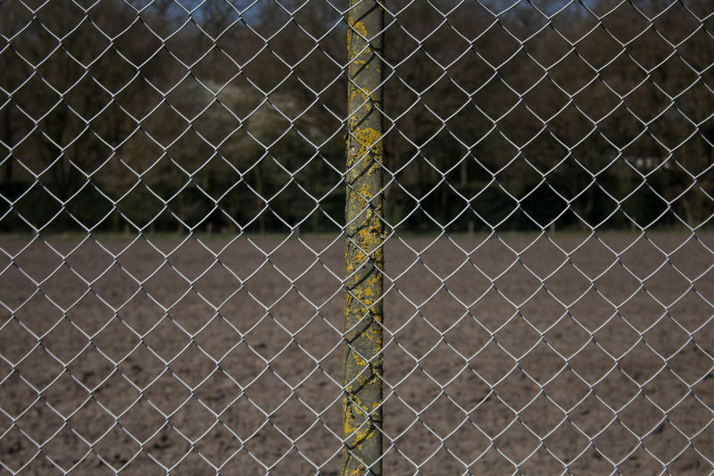 Fence paterns Chainlink Fence Crisscross Day Fence Locked Up Metal No People Outdoors Pattern Protection Raster Safety Wide Shot