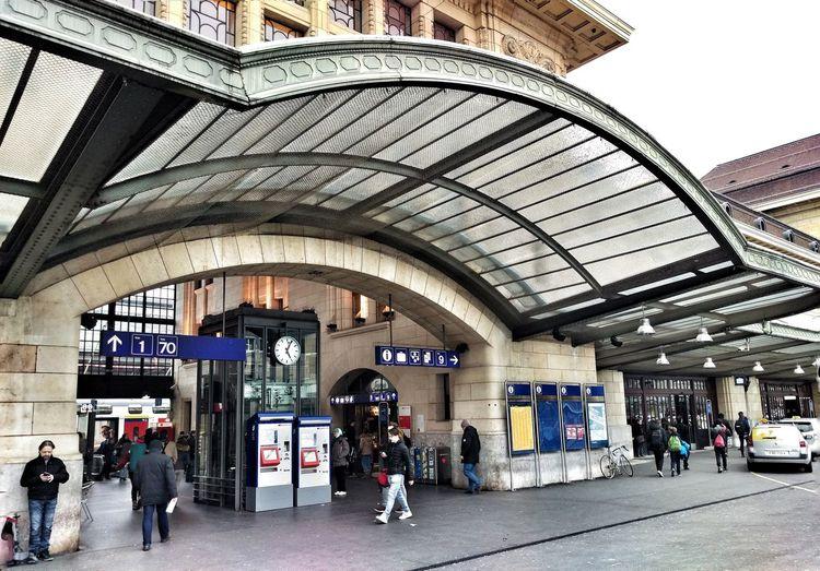 Portal Train Station Gare Architecture City Street Photography