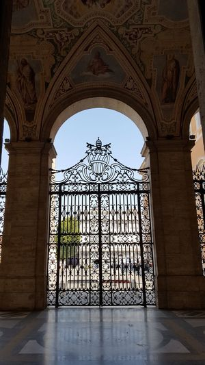 San Giovanni In Laterano St John In Lateran Arch Architecture Travel Destinations History No People Light And Shadow Door Wrought Iron Gate Roma Rome Italy Italia Religion Catherine2017 The Week On EyeEm Moving Around Rome Adventures In The City The Architect - 2018 EyeEm Awards