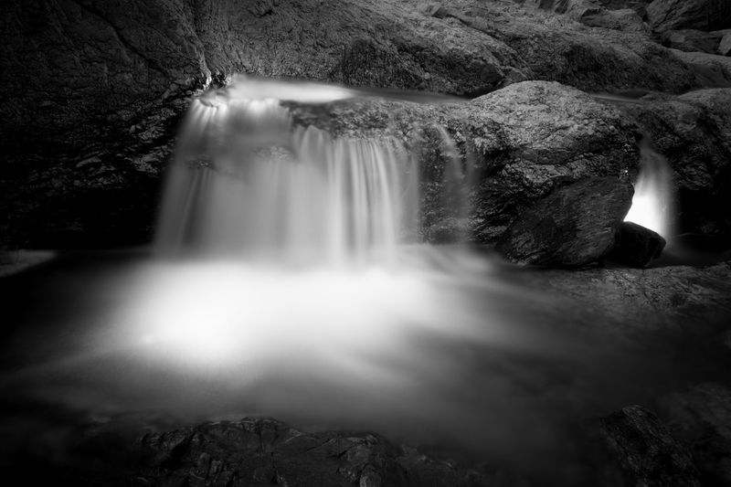 Monochrome Water Light Painting Outdoors Nature Arizona Langzeitbelichtung Time Lapse Long Exposure Enjoying Flashlights