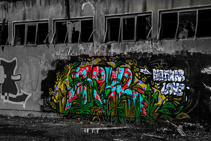 Black&color Colours Black Graffiti Art Art Graffiti Shelters Nature Popular Germany Camphitfeld Abonded Abondoned Abondoned Places Abonded Places Scary Paint EyeEm EyeEm Best Shots Urban Light And Shadow Hitfeld Love Side View Likes