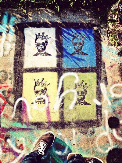 My hommie abe! Abraham Lincoln Graffiti