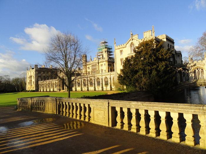 St John College Against Sky
