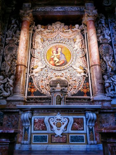 Chiesa Di San Giuseppe Dei Teatini Palermo Sicily Italy Travel Photography Travel Voyage Traveling Mobile Photography Fine Art Baroque Architecture Churches Marble Altars Extraordinary Decorations Exquisite Marble Inlays Magnificent Stunning Colours