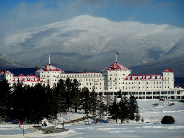 Carroll, New Hampshire Mount Washington  The Presidential Range Architecture Beauty In Nature Building Exterior Built Structure Cloud - Sky Cold Temperature Day Mountain Mountain Range Nature No People Outdoors Scenics Sky Snow Snowcapped Mountain Travel Destinations Tree Weather White Color Winter