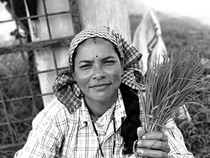 Women Portrait Rural Scene Cereal Plant Girls Agriculture Headshot Wheat Happiness Farmland Agricultural Field International Women's Day 2019