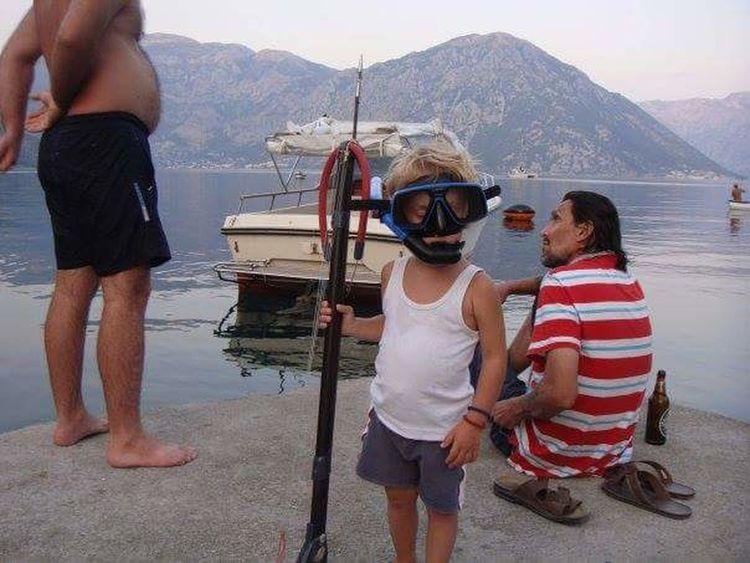 Father & Son Boka Kotorska Mobilephotography Mobile Photography