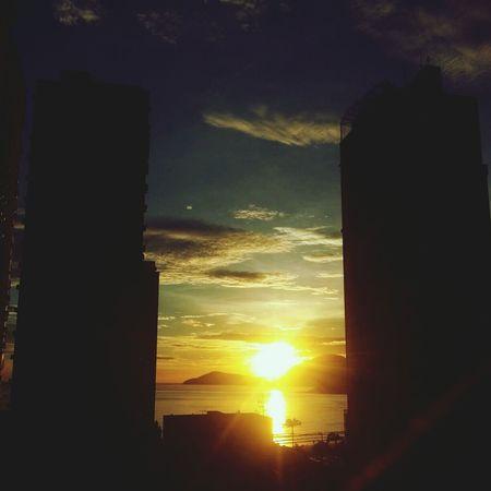 Sunrise Enjoying Life Summertime Sunnyday