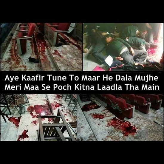 😢😢😢😢😢😢 Blackday PrayForPeshawar PrayforPeace PrayForPakistan PeshawarAttack Pakistan