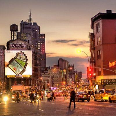 الغرووب في مدينه كهذه له احساس مختلف نيويورك_امريكا
