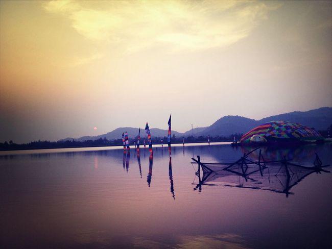 Sunset in Hua Hin