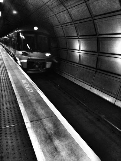 Station Approach Andrographer Blackandwhite Notes From The Underground Subway