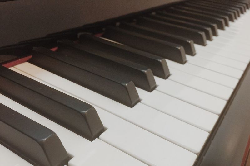 Piano Key Piano Musical Instrument Music Close-up In A Row Indoors