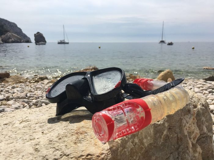 Beach Coastline Dive France Marseille Mediterranean  Sailboat Snorkeling Sun Water