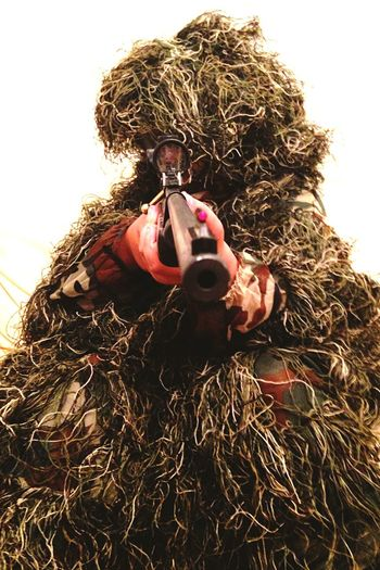 Camouflage Hunting Rifle Shooting Ghillie Suit!!! Boys Will Be Boys
