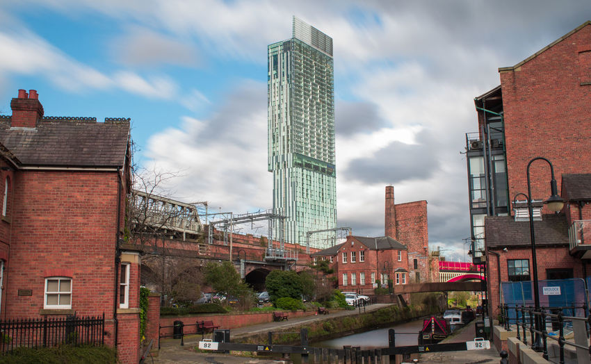 Manchester Architecture Building Exterior Castlefield City Cloud - Sky Eye4photography  EyeEm Best Edits EyeEm Best Shots EyeEm Gallery Manchester Piccadilly Showcase April