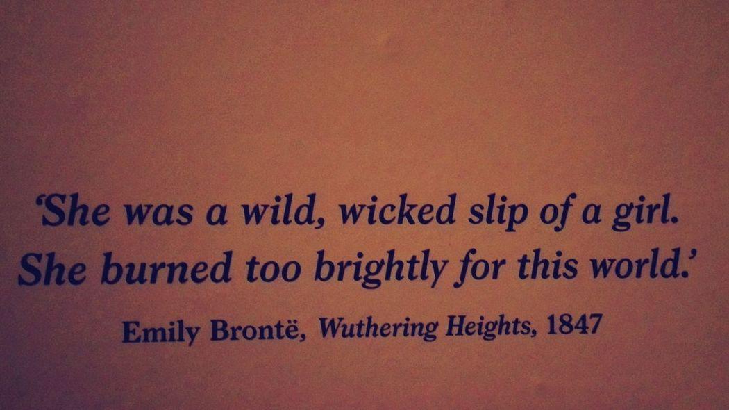 Quote Emily Bronte
