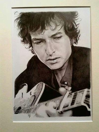 Check This Out Portrait Pencil Drawing Art, Drawing, Creativity ArtWork Art Bob Dylan Bob Dylan pencil portrait