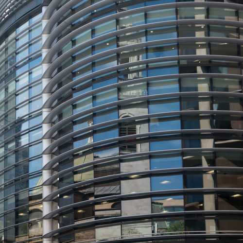Cubist architecture Church Architecture Blue Building Building Exterior Built Structure City Day Glass - Material Low Angle View Modern No People Office Office Building Exterior Outdoors Pattern Reflection Repetition Walbrook Walbrook Building Window