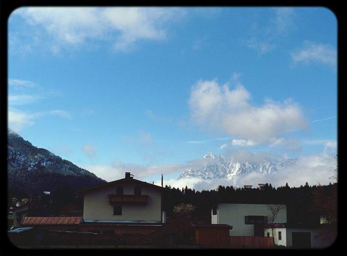 Hello World Austria Mountain Sunshine a perfect Day!