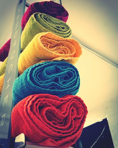 Multi Colored Taking Photos Towel Creation Color Photography EyeEm Gallery Eyeemphotography Playing With Colors