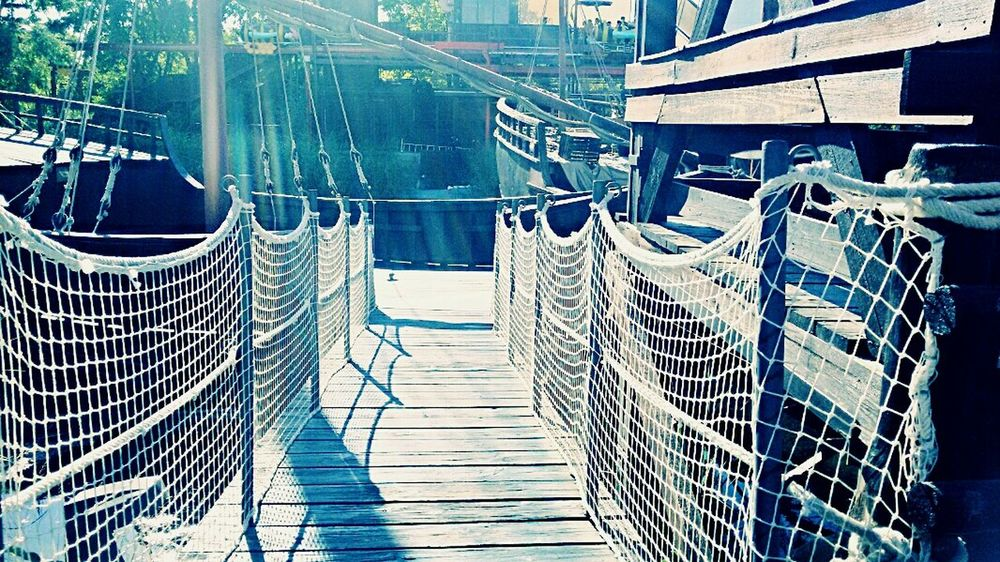 Bridge View Bridge Caravel Ship Caravella Perspective Sevilla EyeEm Spain Sevilla #andalucía EyeEm Best Shots Boats