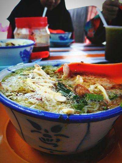 Soto Bagan Datok Soto Ayam Soto Business Finance And Industry Seafood Soup Wok Bowl Close-up Food And Drink Asian Food Street Food Noodles First Eyeem Photo