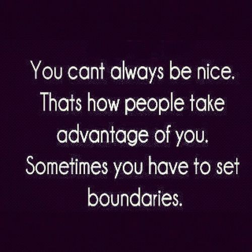 I now have Boundries Thankyou Teamhaters ~ Iwillneverbethesame