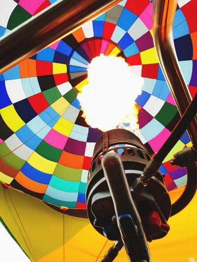 Hot air balloon, colors, excitement, fun