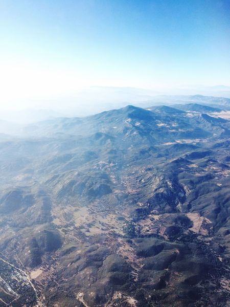 Hills Flight Plane Window Plane View View From Above View From The Window... Travel California Adventure Nature