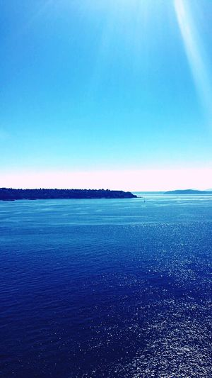 On a Farris wheel Ocean View Blue
