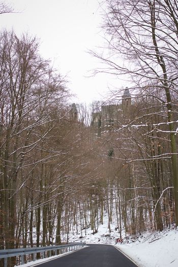 Winter at Castle Frankenstein