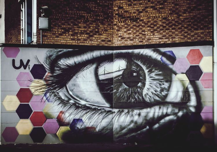 EyeEm Best Shots First Eyeem Photo Streetphotography Grafitti Derrylondonderry Ireland Travel Finding New Frontiers