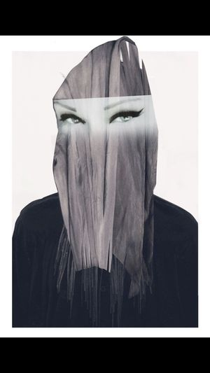 Surrealistic Burka Photographic Approximation Hooked On The Feed Forgotten Dreams New Nightmares Digital Collage