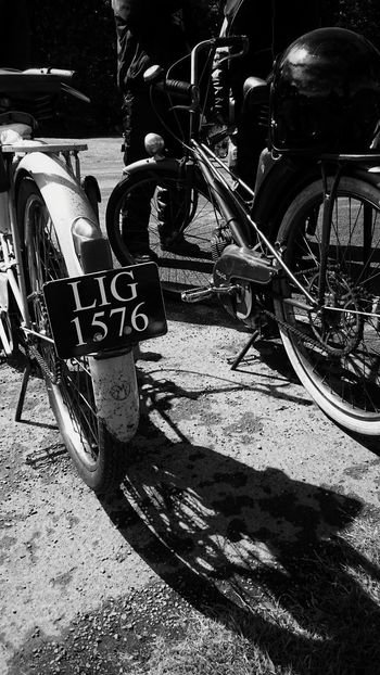 Old school motorcycles today @ oxford island.. Lough Neagh Oldschool Vintage Motorcycles Vintage Bike Black And White Photography