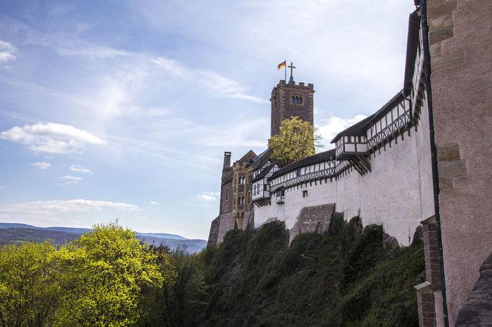 wartburg castle eisenach germany Castle Martin Luther Wartburg Wartburg In Eisenach/ Germany Architecture Building Exterior Built Structure Germany Historic Religion Tree