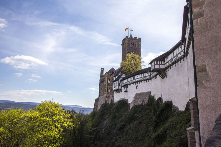 wartburg castle eisenach germany Castle Martin Luther Wartburg Wartburg In Eisenach/ Germany Architecture Building Exterior Built Structure Germany Historic Religion Tree