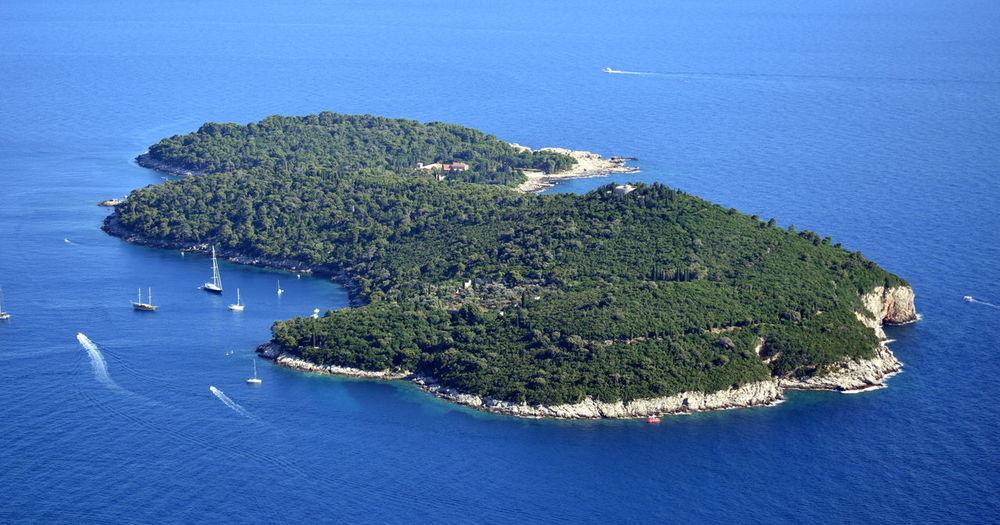 Blue Coastline Day Island Sea Seascape Water