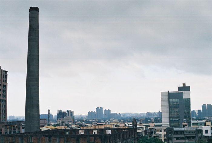 gray day Canonae1program Negative Film Sky Building Exterior No People Day